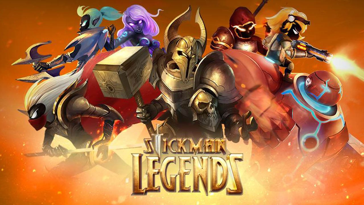Stickman Legends poster