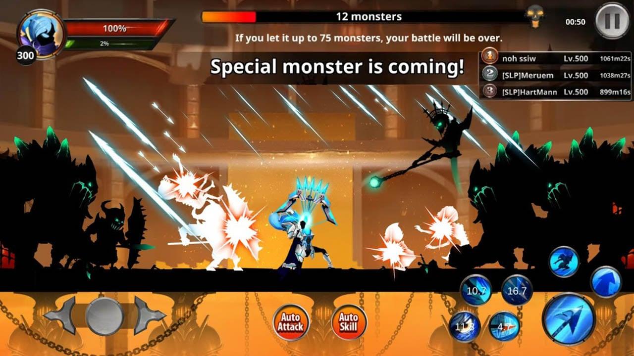 Stickman Legends screen 1
