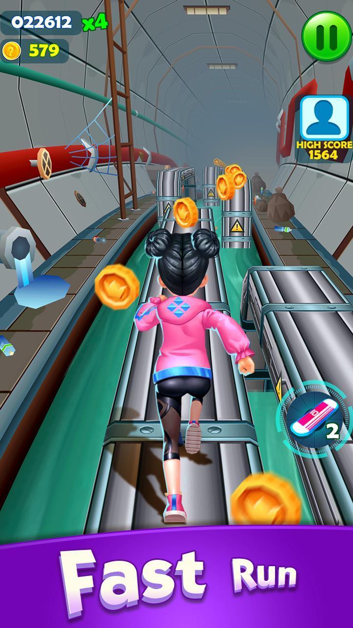 Subway Princess Runner screen 3