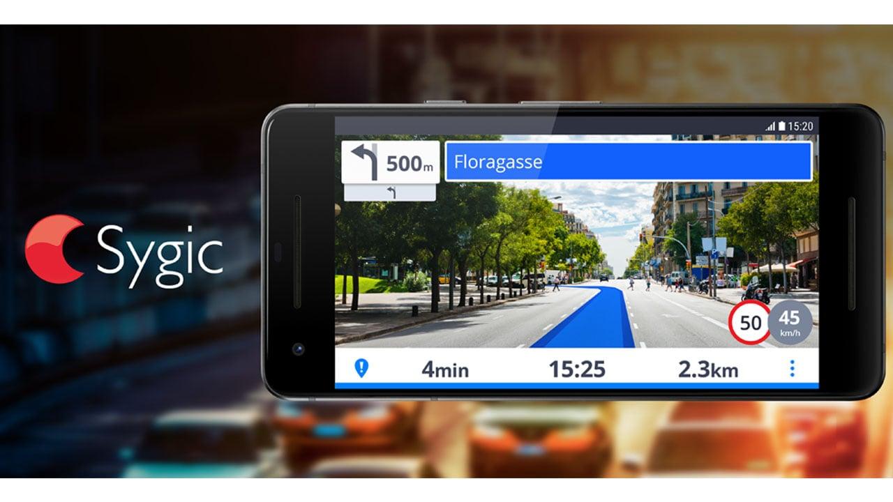 Sygic Truck GPS Navigation & Maps poster