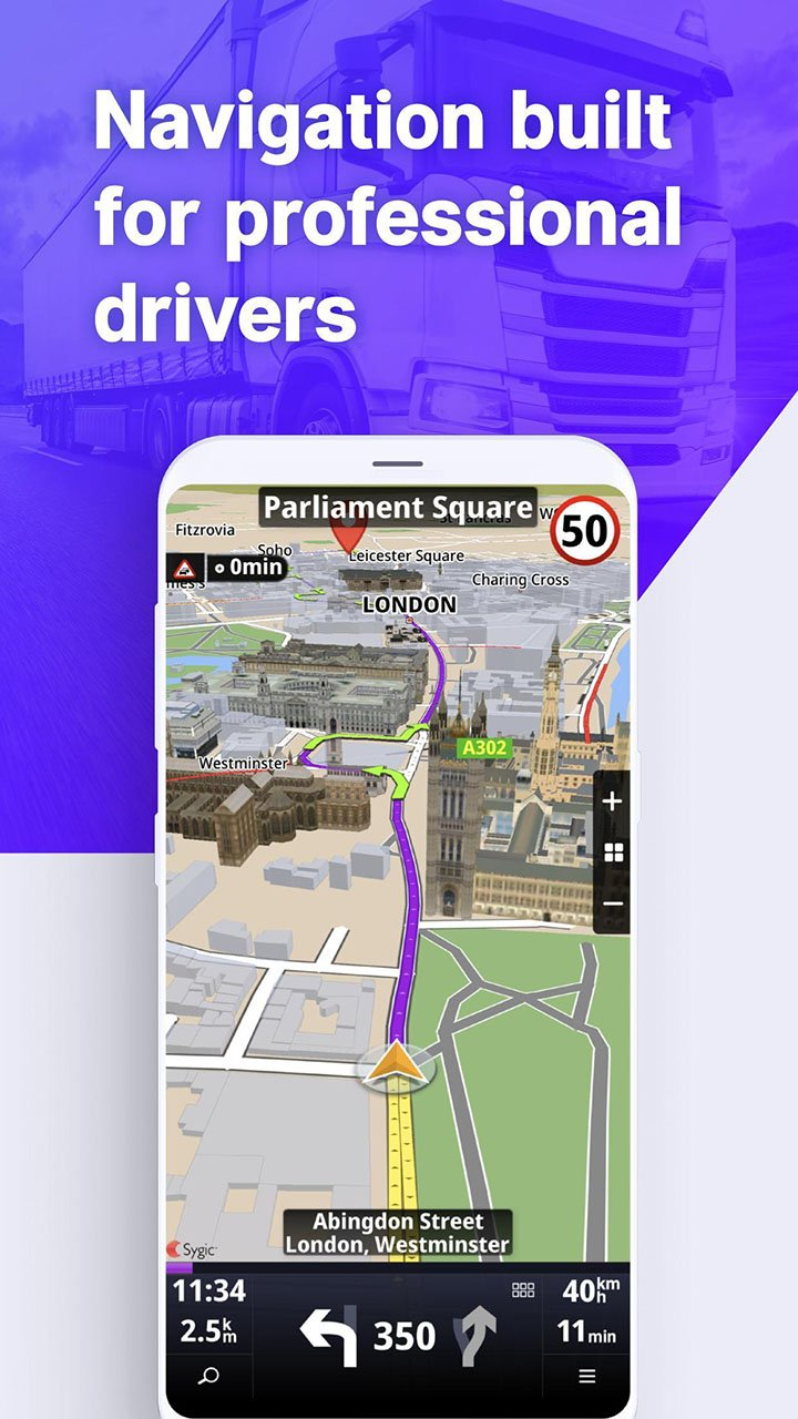 Sygic Truck GPS Navigation & Maps screen 0
