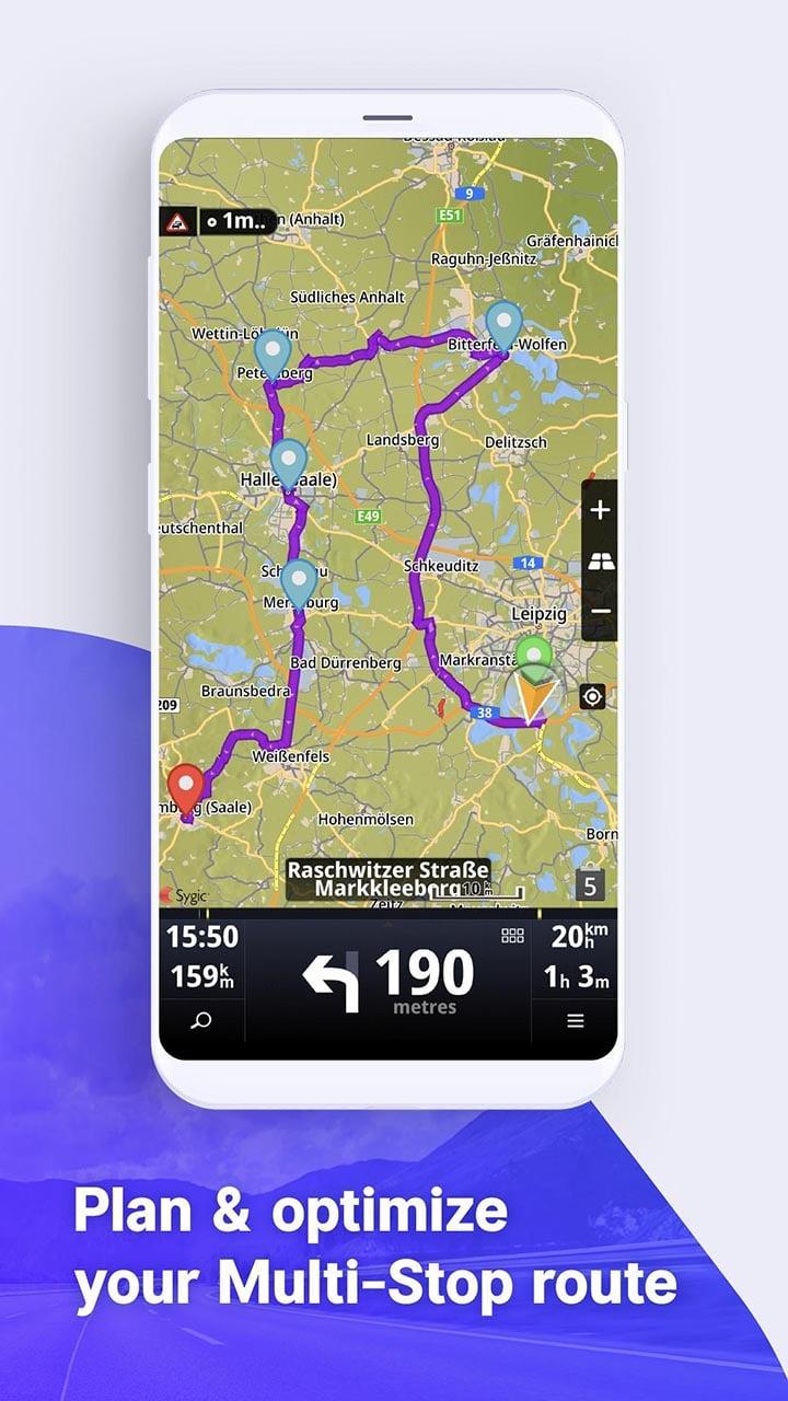 Sygic Truck GPS Navigation & Maps screen 4