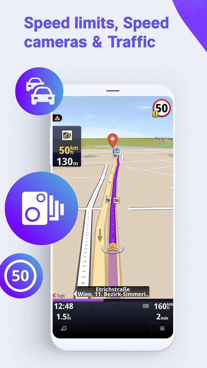 Sygic Truck GPS Navigation & Maps screen 5
