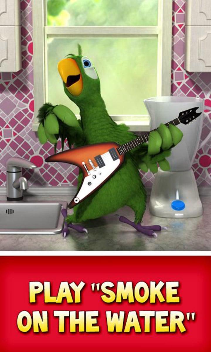 Talking Pierre the Parrot screen 0