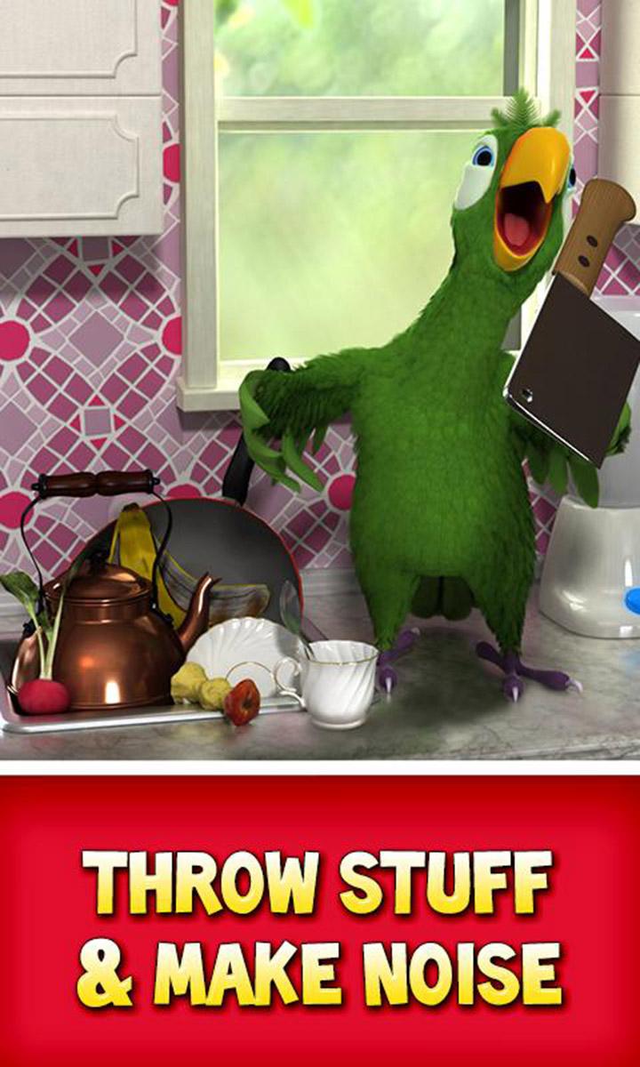 Talking Pierre the Parrot screen 1