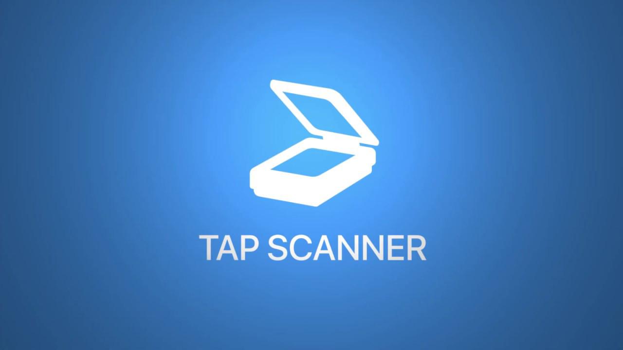 TapScanner Scanner App To PDF poster