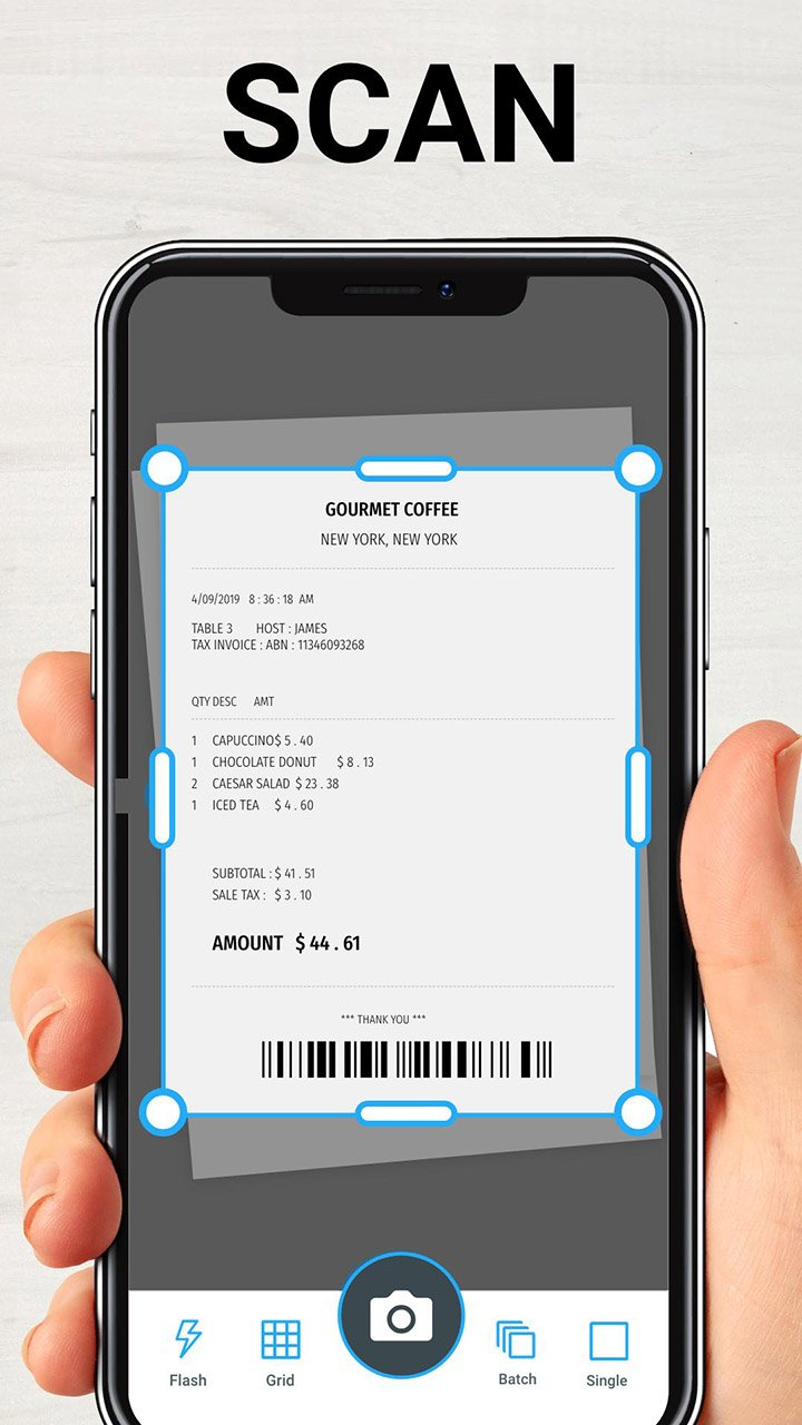 TapScanner Scanner App To PDF screen 0
