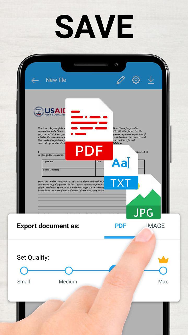 TapScanner Scanner App To PDF screen 1