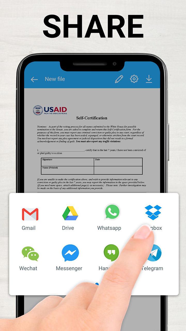 TapScanner Scanner App To PDF screen 2