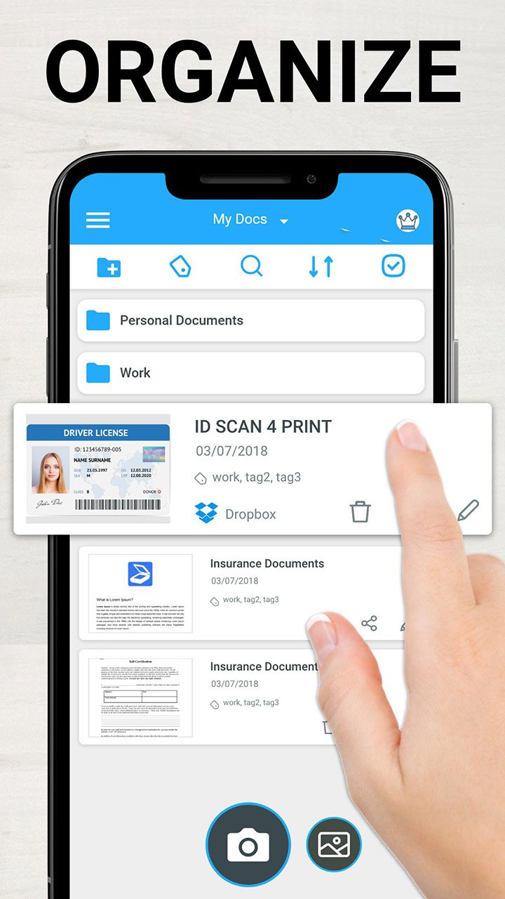 TapScanner Scanner App To PDF screen 3