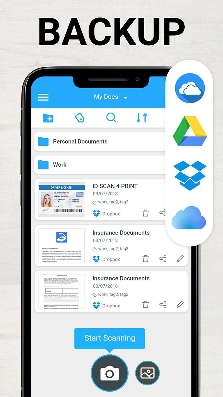 TapScanner Scanner App To PDF screen 4
