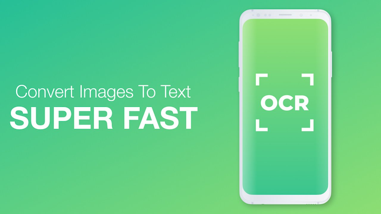 Text Scanner OCR poster