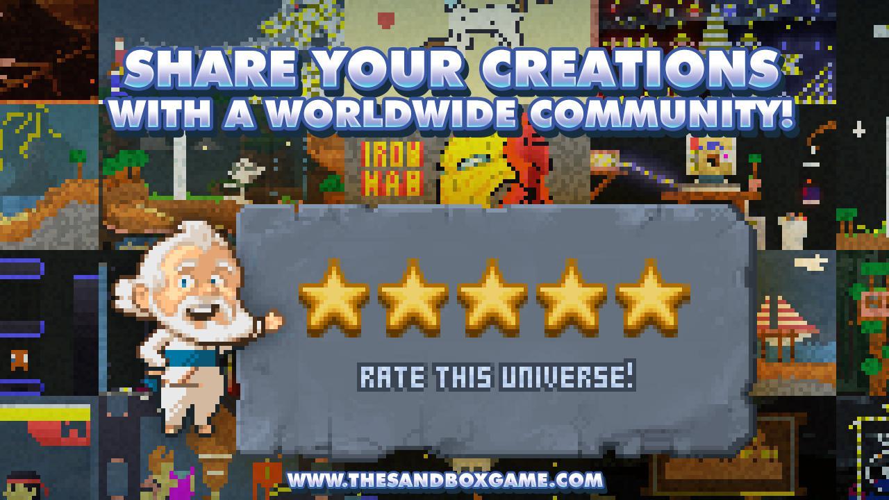 The Sandbox Craft Play Share screen 4