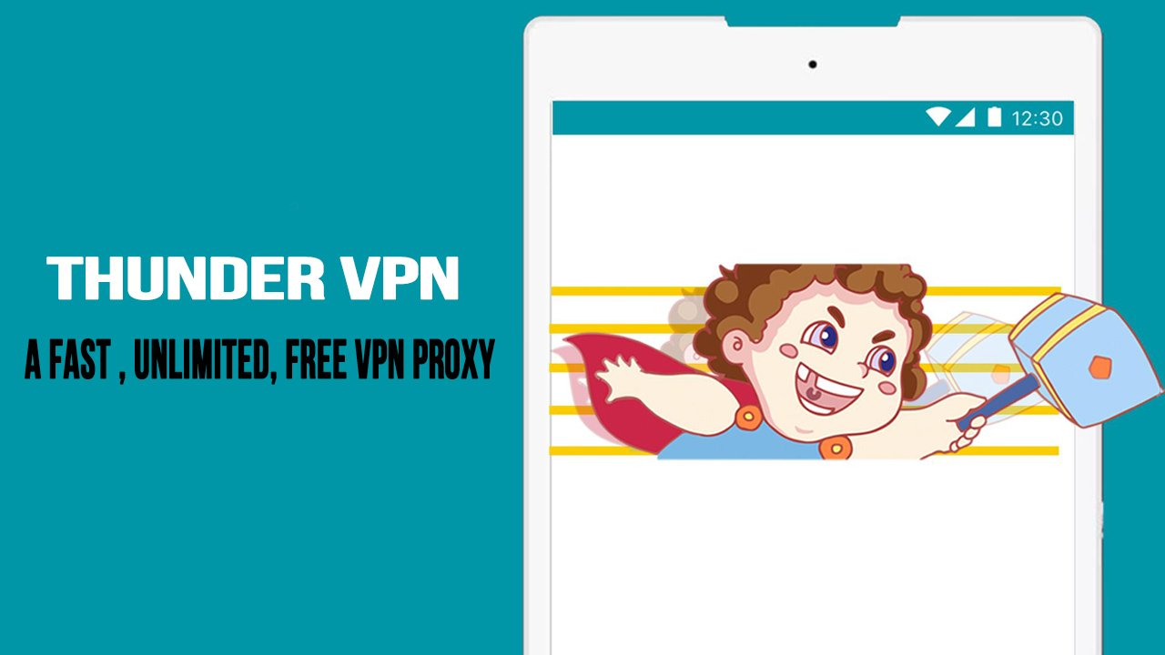 Thunder VPN poster