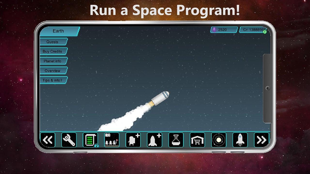 Tiny Space Program screen 0