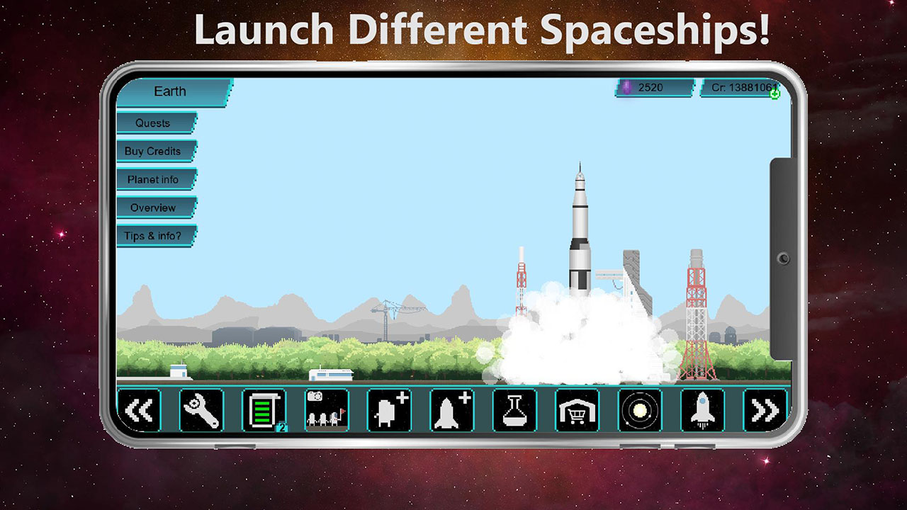 Tiny Space Program screen 3