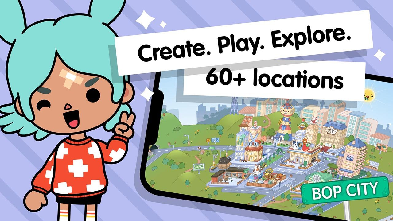 Toca Life World Build stories & create your world screen 0