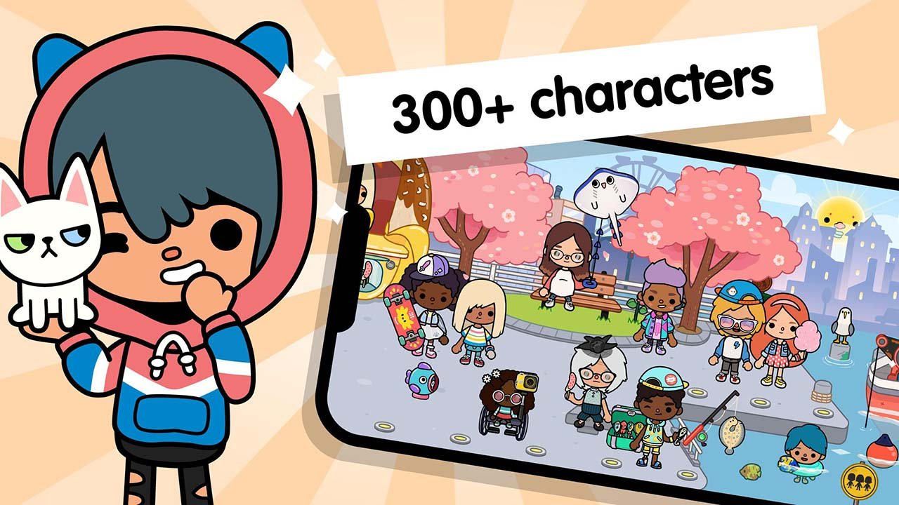 Toca Life World Build stories & create your world screen 2