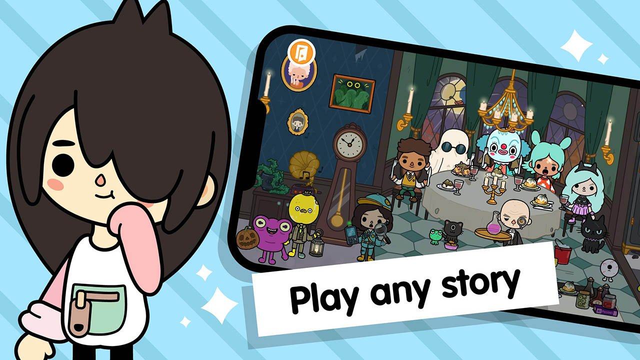 Toca Life World Build stories & create your world screen 3