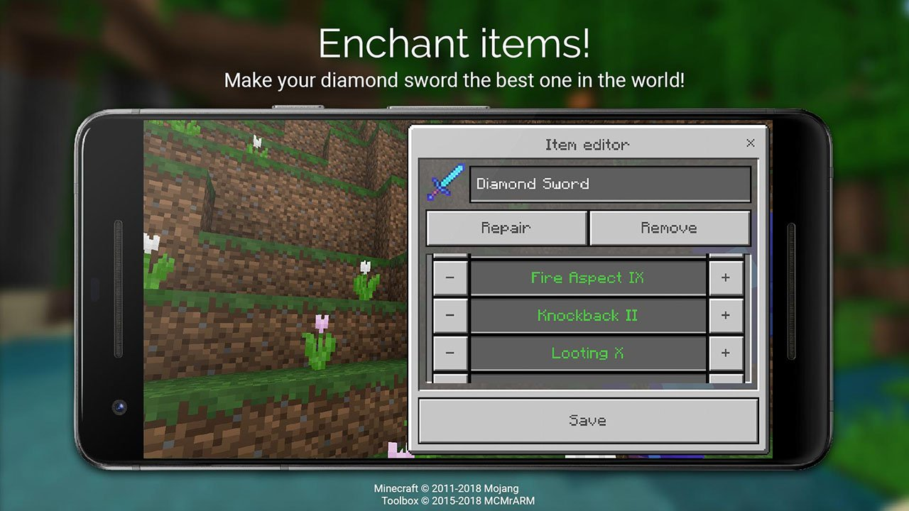 Toolbox for Minecraft PE screen 4