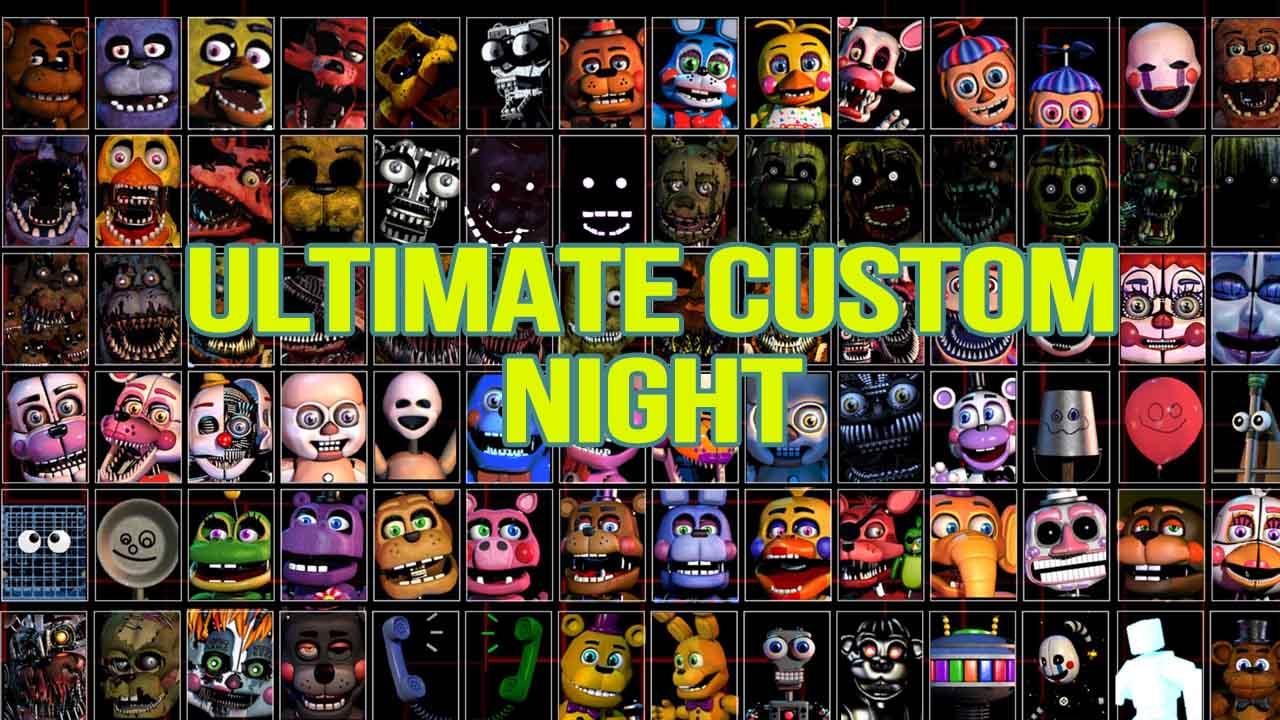 Ultimate Custom Night poster