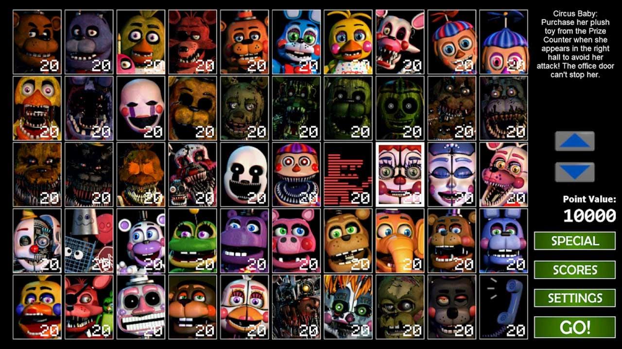 Ultimate Custom Night screen 4
