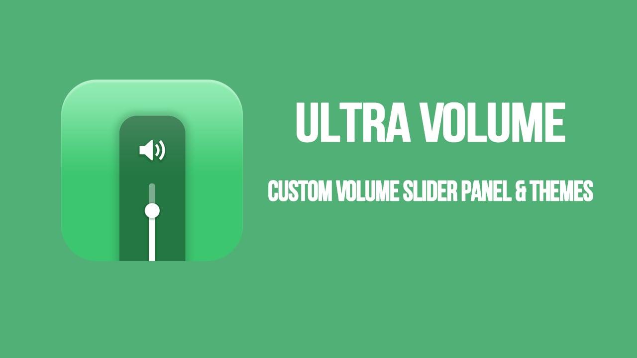 Ultra Volume poster