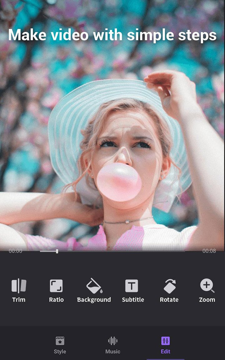 Video Maker of Photos with Music & Video Editor screen 2