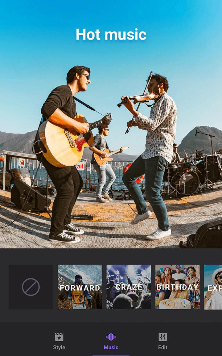 Video Maker of Photos with Music & Video Editor screen 4