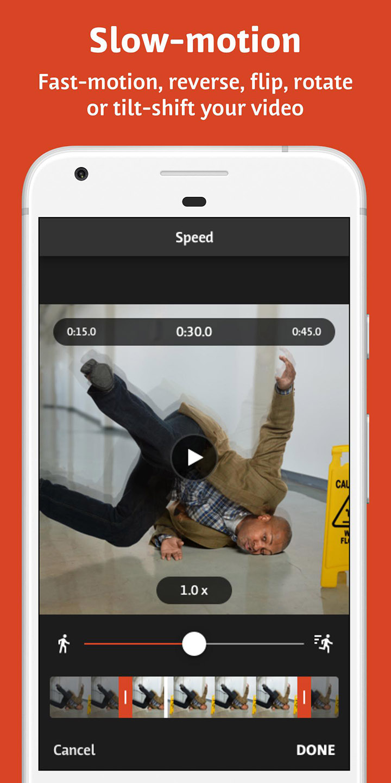 Videoshop screen 1