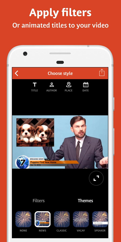 Videoshop screen 2