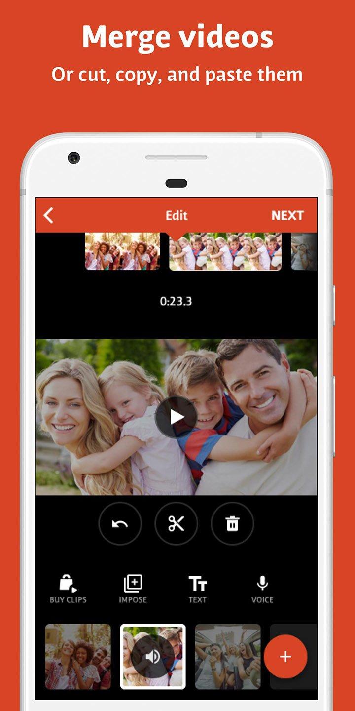 Videoshop screen 3