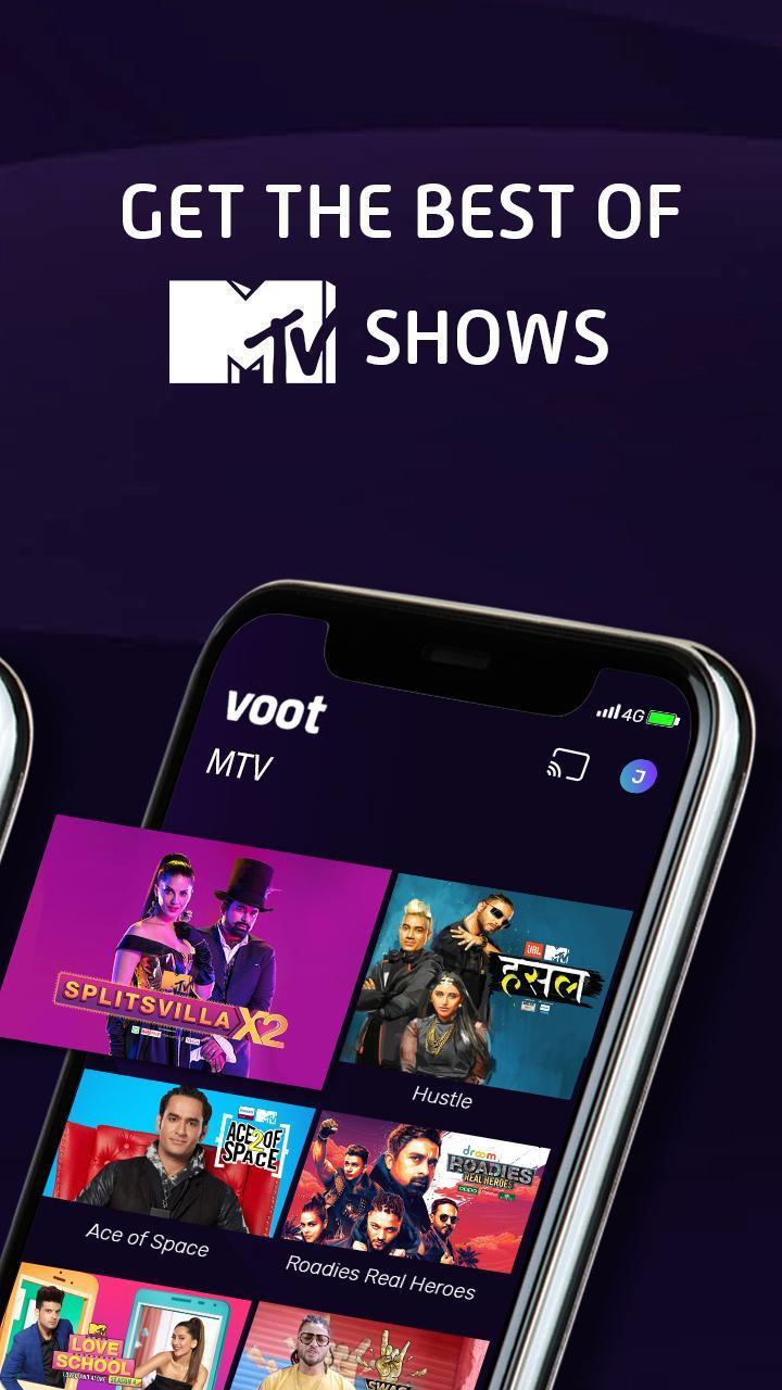 Voot screen 2