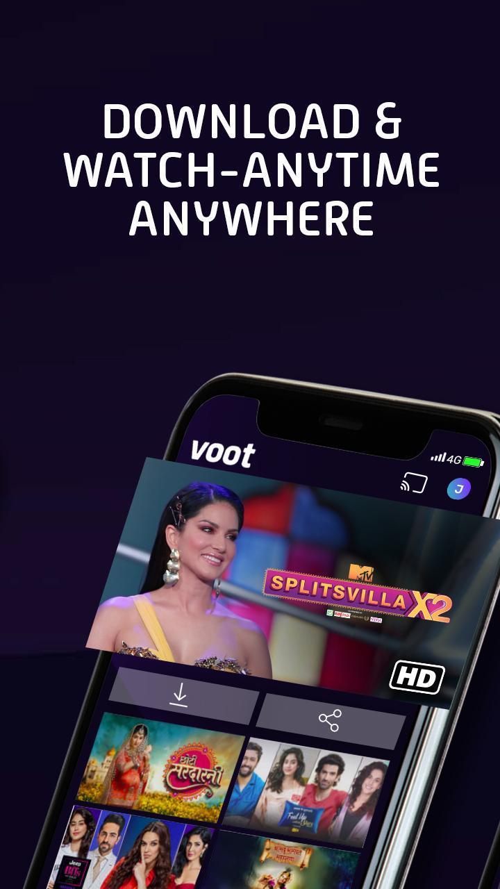 Voot screen 5