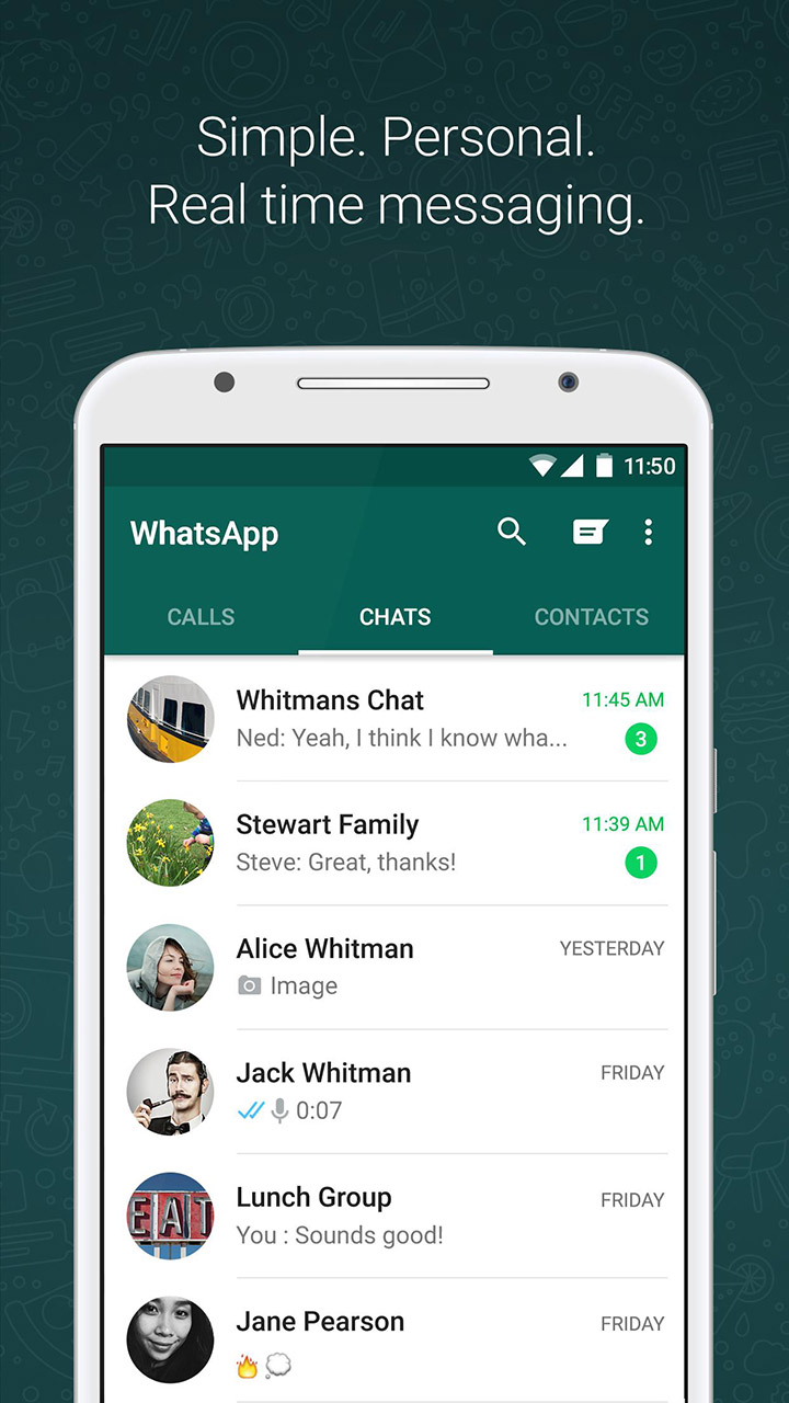 WhatsApp Messenger screen 0