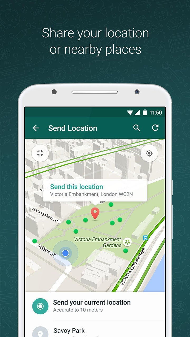 WhatsApp Messenger screen 4