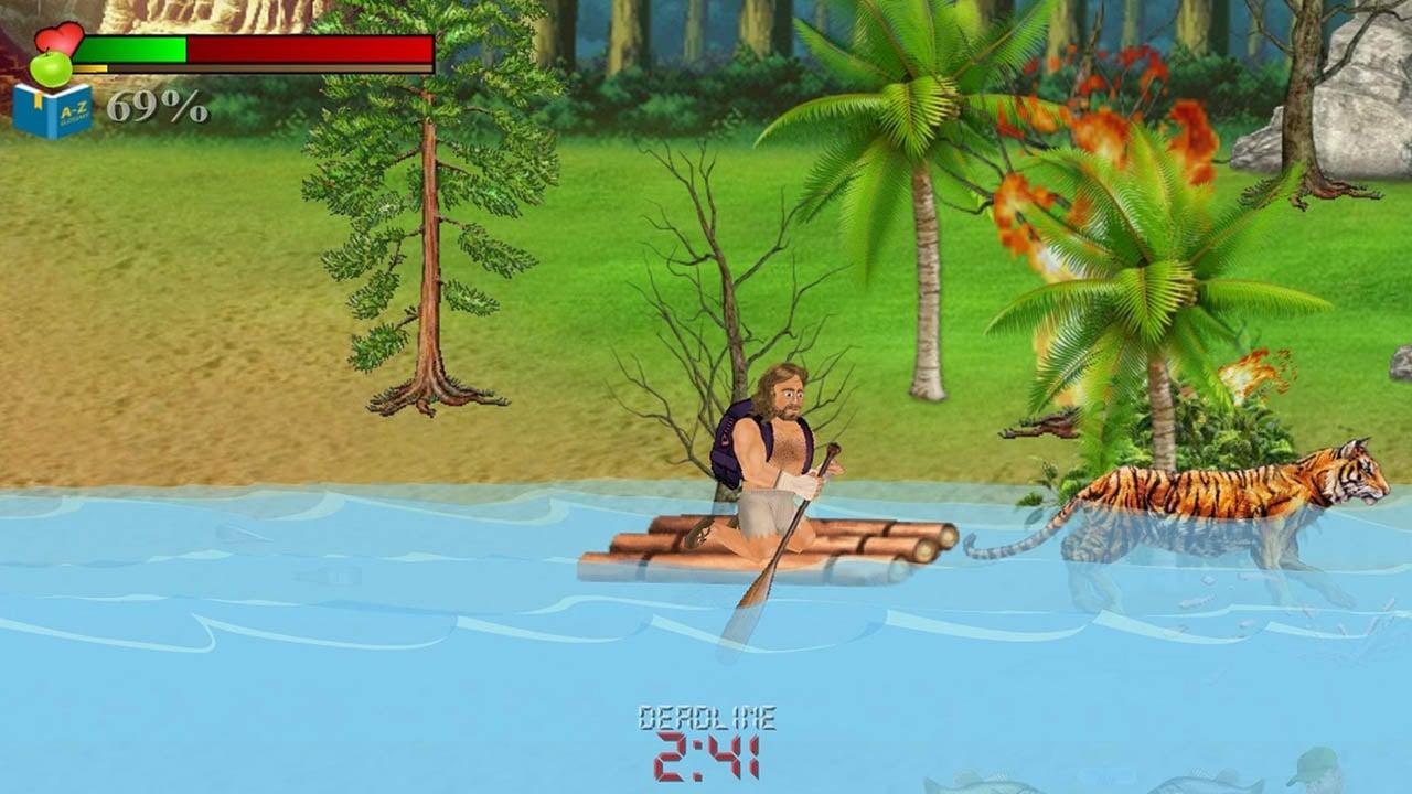 Wrecked Island Survival Sim screen 0