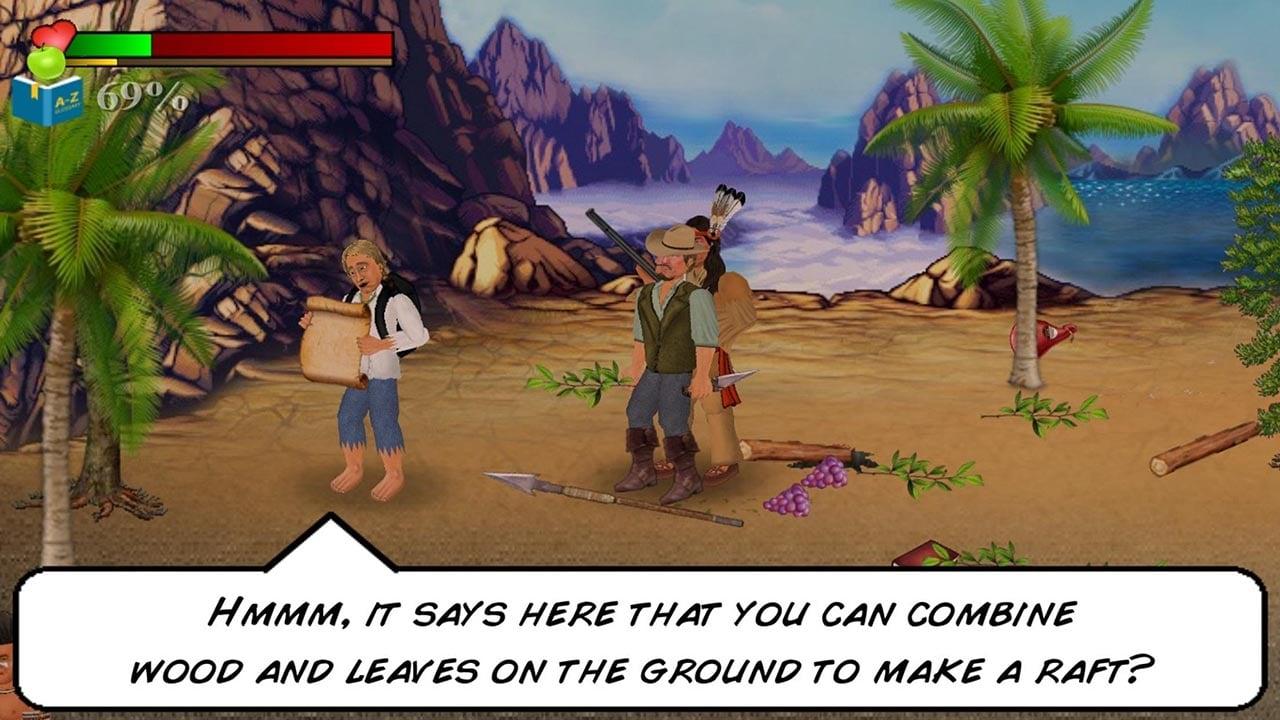 Wrecked Island Survival Sim screen 1