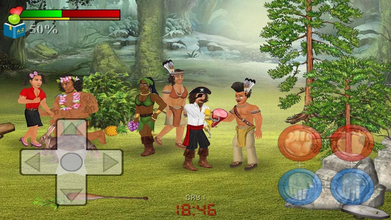 Wrecked Island Survival Sim screen 2