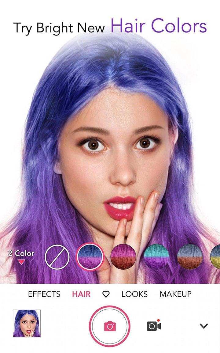 YouCam Makeup screen 1