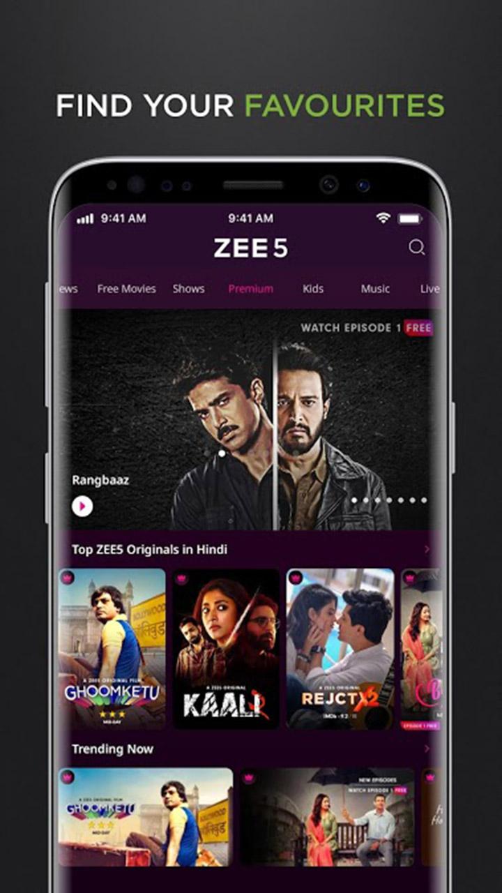 ZEE5 screen 2