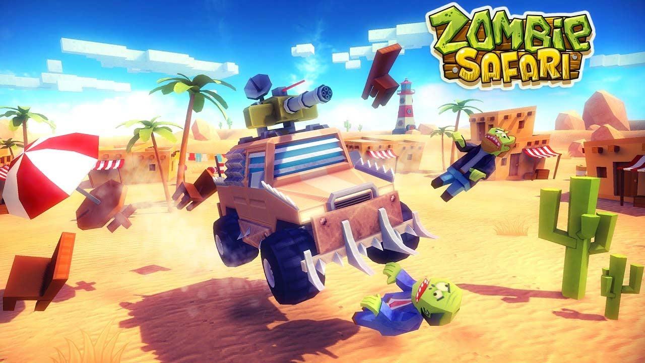 Zombie Offroad Safari poster