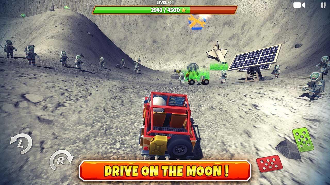 Zombie Offroad Safari screen 2