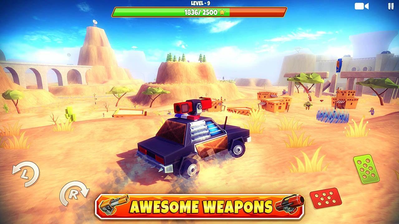 Zombie Offroad Safari screen 3