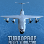 Turboprop Flight Simulator 3D MOD APK 1.26.2 (Unlimited Money)