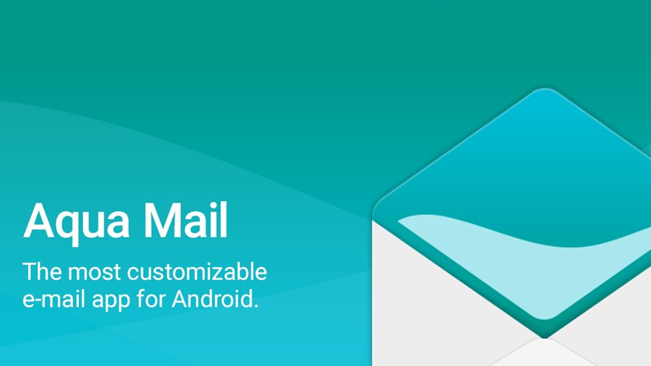 Aqua Mail poster