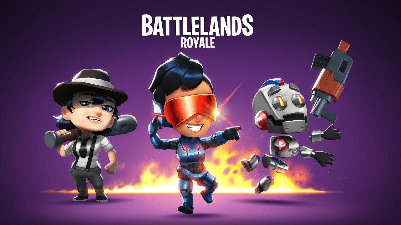 Battlelands Royale poster