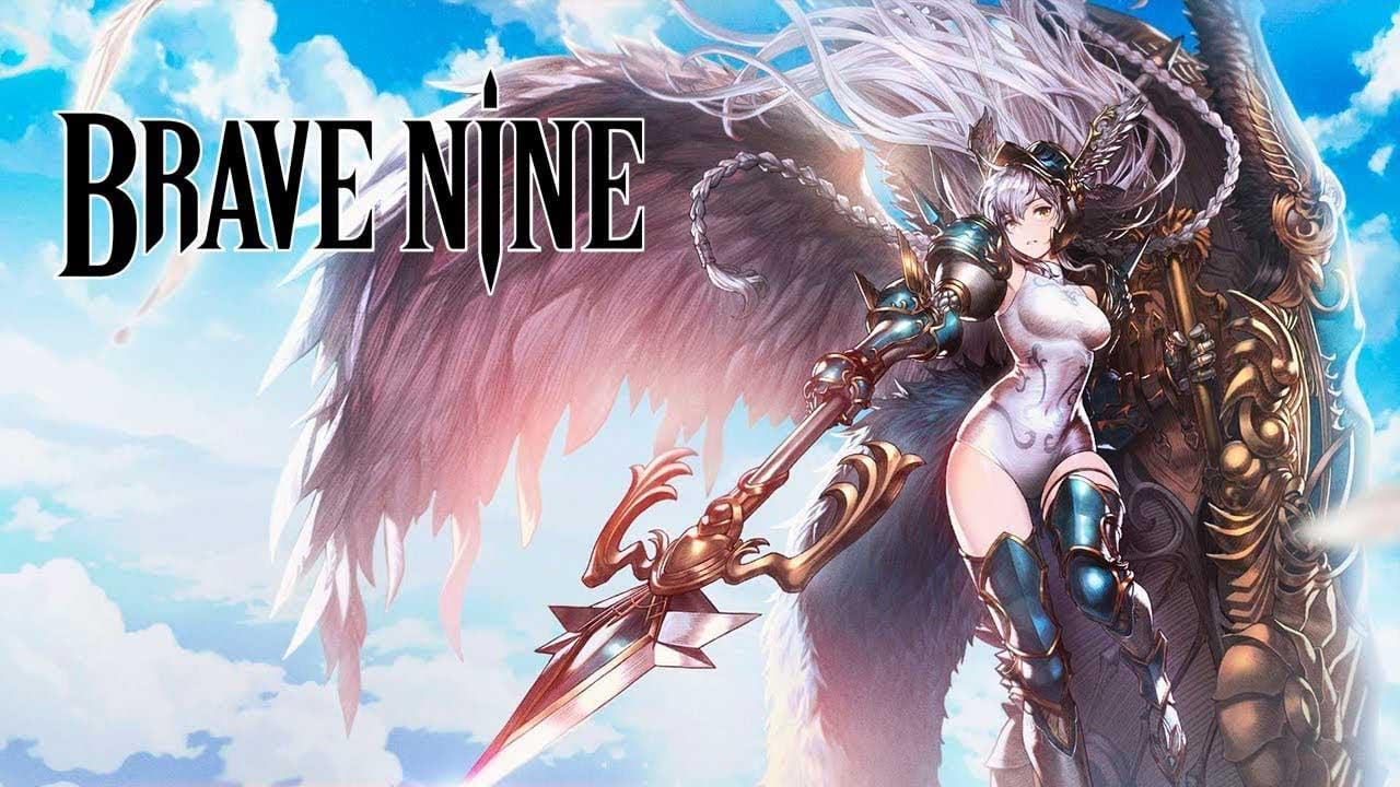 Brave Nine Tactical RPG poster