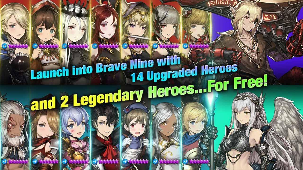 Brave Nine Tactical RPG screen 2