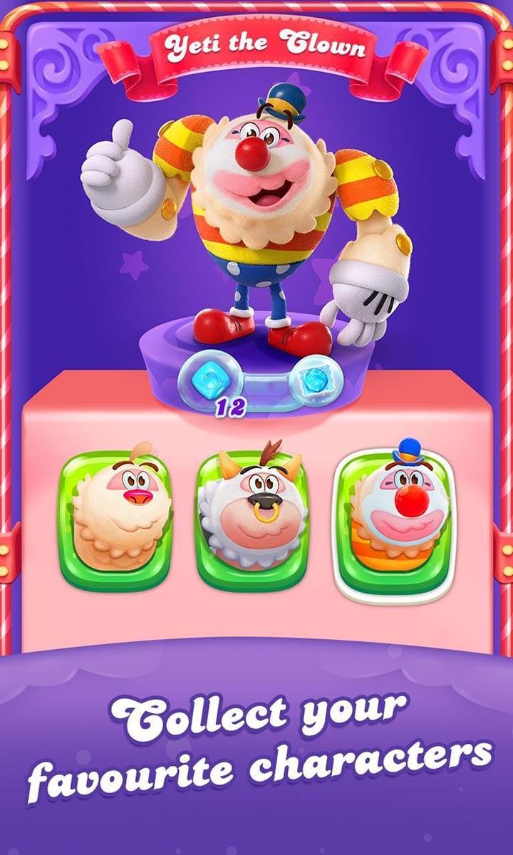 Candy Crush Friends Saga screen 1